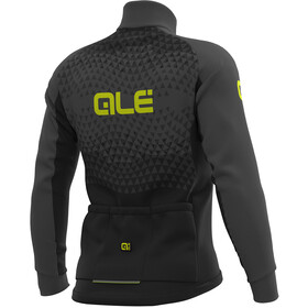 Alé Cycling Solid Summit DWR Chaqueta Hombre, black-grey